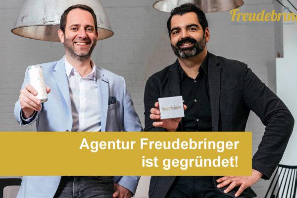 """Werbeagentur """"Freudebringer"""" ist gegründet!"""
