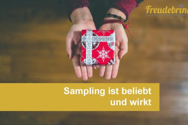 Sampling, Werbeagentur, Freudebringer, Produktverteilung, Warenproben, Sampling