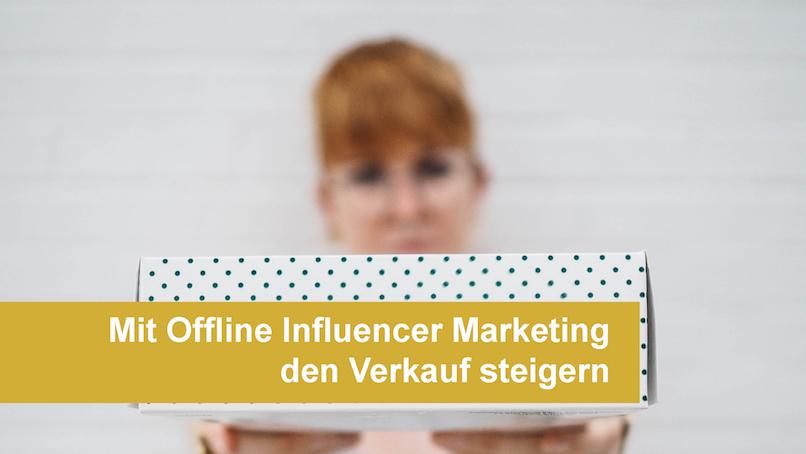 Die Promotion Agentur Freudebringer setzt auf Offline Influencer und Markenbotschafter