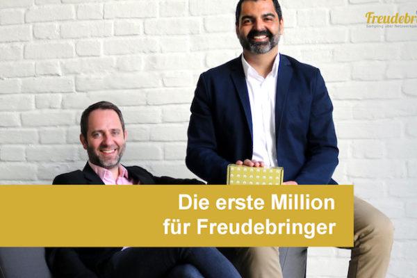 Die erste Million für die Sampling-Agentur Freudebringer