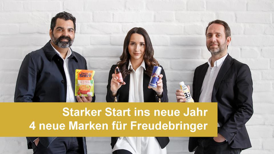 Die Werbeagentur Freudebringer startet mit 4 großen Marken in 2019