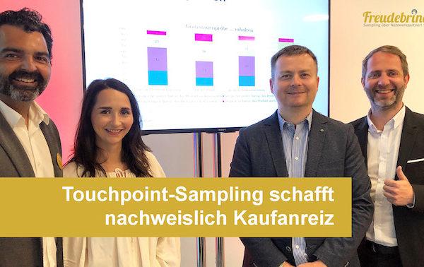 Promotionagentur Freudebringer schafft Kaufanreize über Touchpoint-Sampling
