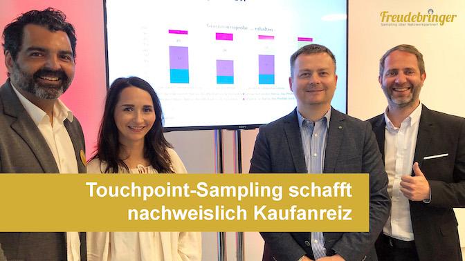 Promotionagentur Freudebringer schafft Kaufanreize mit Touchpoint-Sampling