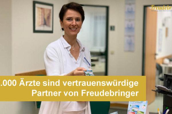 5.000 Ärzte und Ärztinnen sind vertrauenswürdige Partner der Samplingagentur Freudebringer
