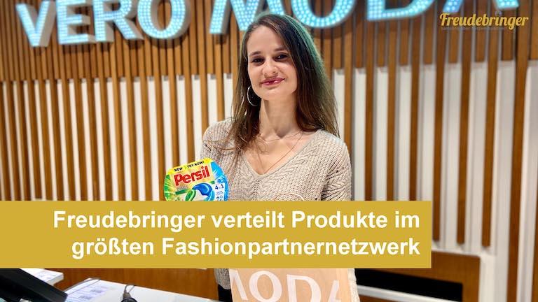 Die Promotion-Agentur Freudebringer kooperiert mit mehr als 400 Fashionunternehmen und bietet Produktverteilungen an modeaffine Zielgruppe
