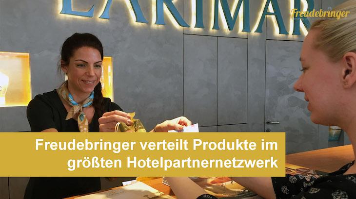 Die Sampling-Agentur Freudebringer kooperiert mit hunderten Hotels und Campingplätzen in ganz Österreich