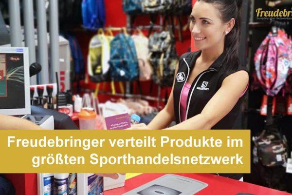 Mit 100 Partnern verfügt die Sampling-Agentur Freudebringer über das größte Verteilpartnernetzwerk im Sporthandel
