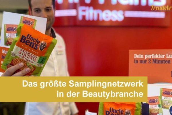 Promotion-Agentur Freudebringer bietet das größte Samplingnetzwerk in der Beautybranche